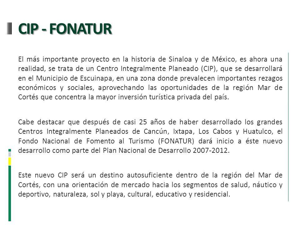 El más importante proyecto en la historia de Sinaloa y de México, es ahora una realidad, se trata de un Centro Integralmente Planeado (CIP), que se de