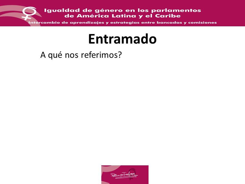 Unidades Técnicas para la transversalización de género Experiencias incipientes Pocos casos: Costa Rica (Unidad Técnica para la Igualdad y la Equidad de Género, 2007), Nicaragua (Unidad Técnica de Género, 2008) y Ecuador (Grupo Técnico Asesor) (2010).