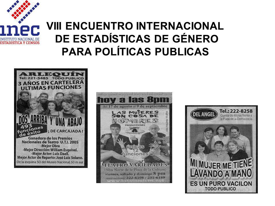 Objetivos de Desarrollo del Milenio Objetivo N°3 Promover la equidad de género y la autonomía de la mujer en Costa Rica.