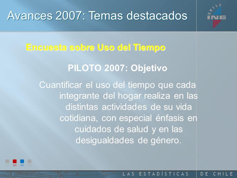 DE CHILELAS ESTADÍSTICAS Instituciones involucradas y demandas: MININSTERIO DE SALUD: cuantificar el trabajo no remunerado en salud.