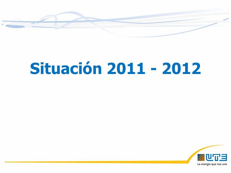 Situación 2011 - 2012
