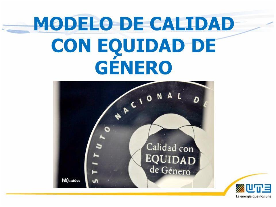 MODELO DE CALIDAD CON EQUIDAD DE GÉNERO