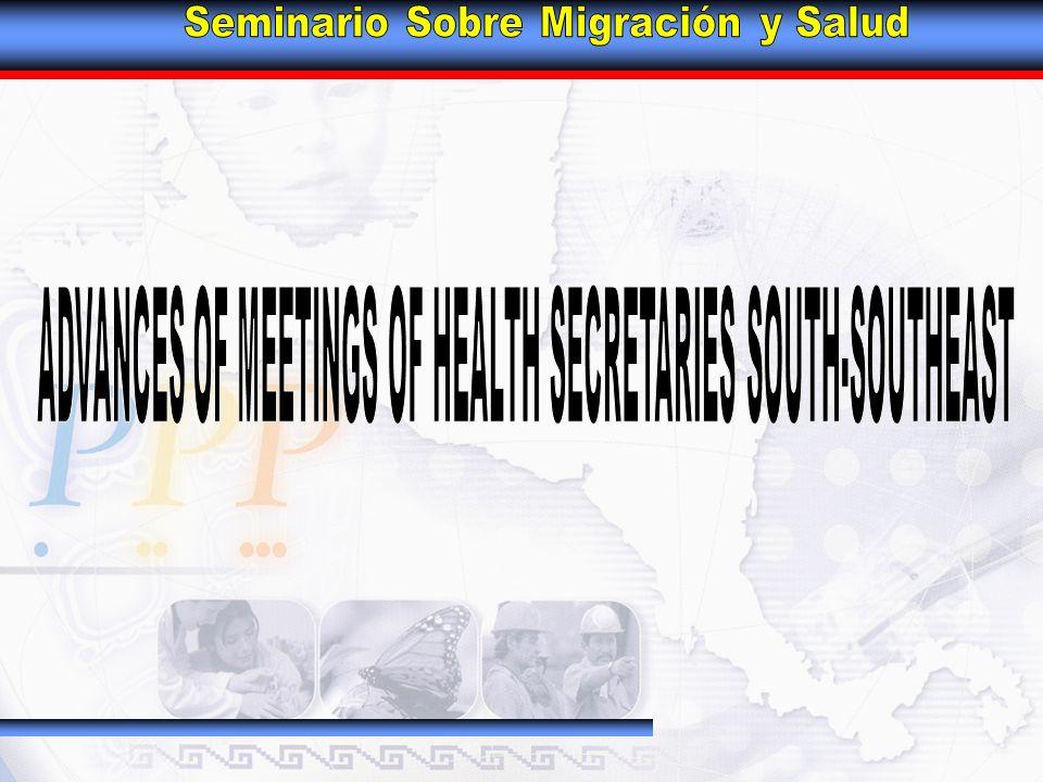 SOUTH-SOUTHEAST GROUP – HEALTH CHAPTER MEMBERS Oaxaca Chiapas Puebla Campeche Guerrero Tabasco Quintana Roo Veracruz Yucatán DR.