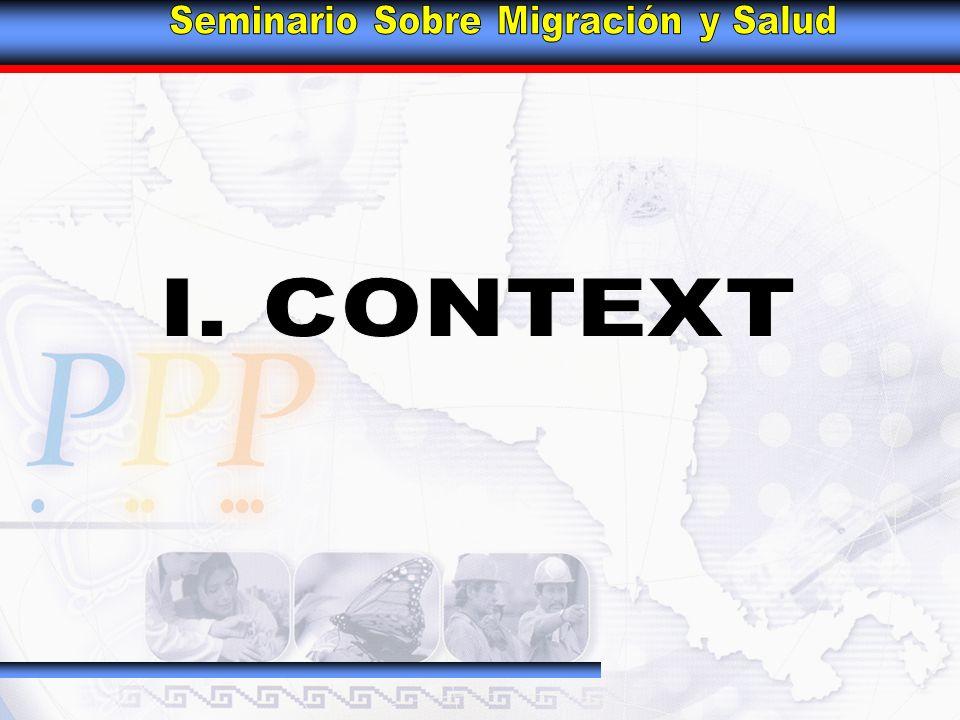 The Southern Border Source: CONAPO Proj.