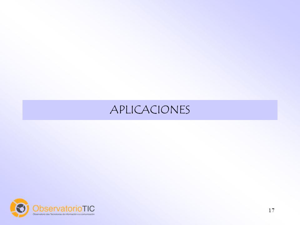 18 Aplicaciones informáticas