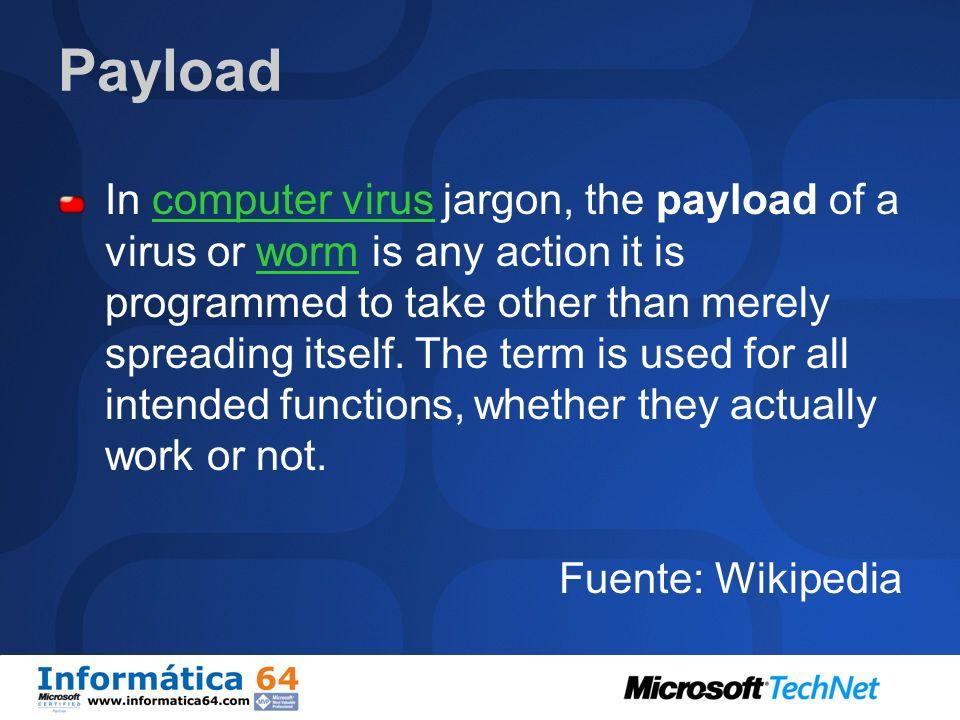 Definición Programa que se ejecuta sobre nuestra máquina y cuyo control no depende de nosotros.