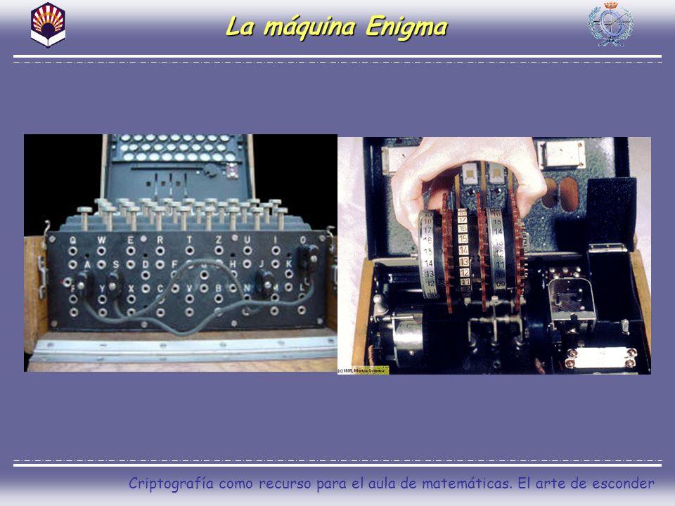 Criptografía como recurso para el aula de matemáticas. El arte de esconder La máquina Enigma