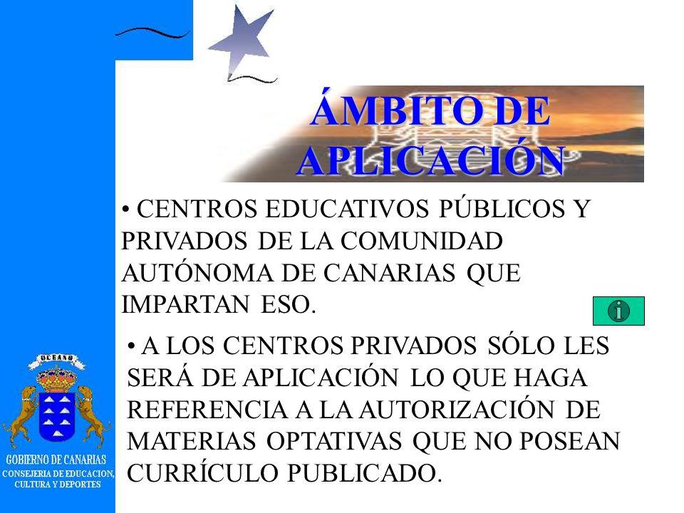 DIRECCIÓN GENERAL DE ORDENACIÓN E INNOVACIÓN EDUCATIVA SERVICIO DE RENOVACIÓN DE LAS ENSEÑANZAS