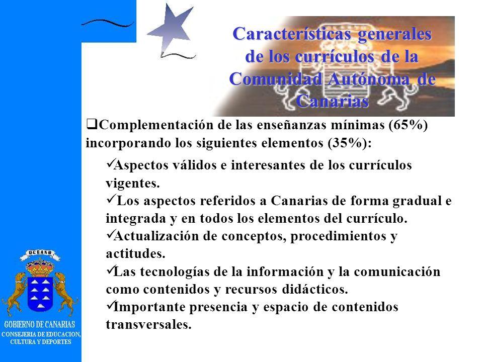 Modelo curricular de las enseñanzas mínimas de la ESO (RD 3473/2000) y del Bachillerato (RD 3474/2000) (BOE de 16 de enero de 2001) E.Contenidos sin clasificar en conceptos, procedimientos y actitudes.