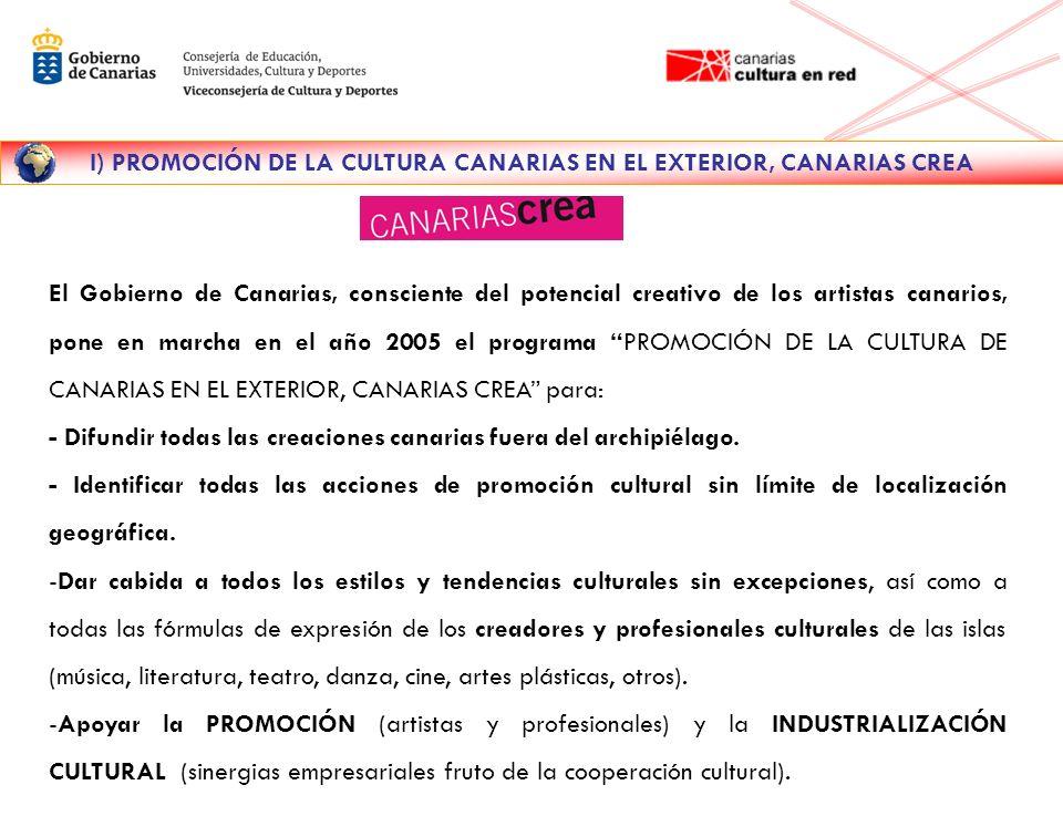 GOBIERNO DE CANARIAS CANARIAS CULTURA EN RED www.gobiernodecanarias.org/cultura 922-53-11-01 902-400-622