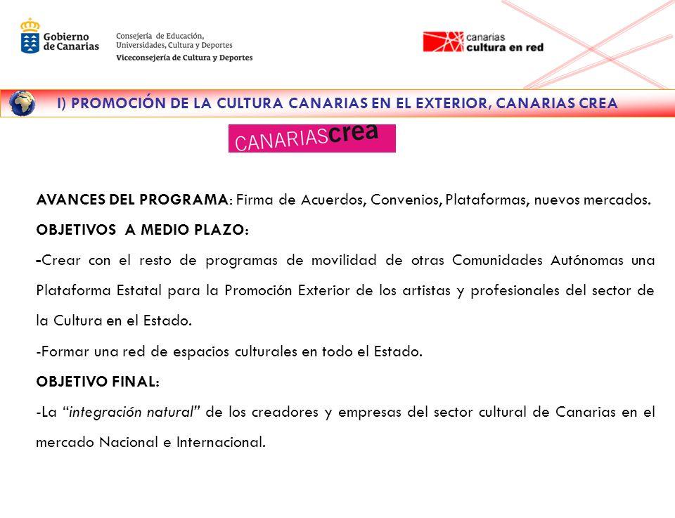 II) PRINCIPALES RESULTADOS DEL PROGRAMA 2005-2008 EVOLUCIÓN DEL PRESUPUESTO DESTINADO AL PROGRAMA CANARIAS CREA , PERIODO 2005-2008.