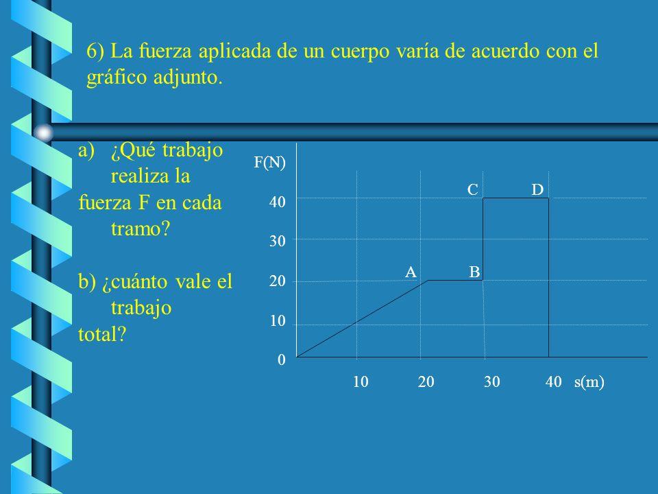 Como 1 CV equivale a 735,5 W, la potencia media en CV es: c) El trabajo total realizado por el motor del ascensor (W t ) es el necesario para subir la
