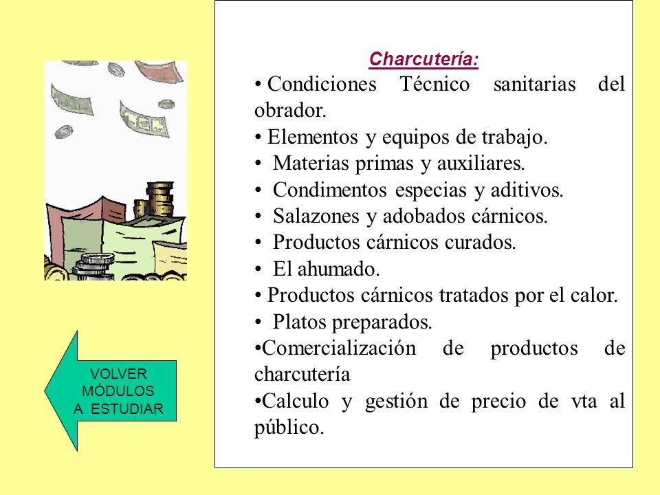 Tecnología de la carne: Los animales productores de carne. Características de la carne.. Microbiología de la carne. Conservación de la carne. VOLVER M