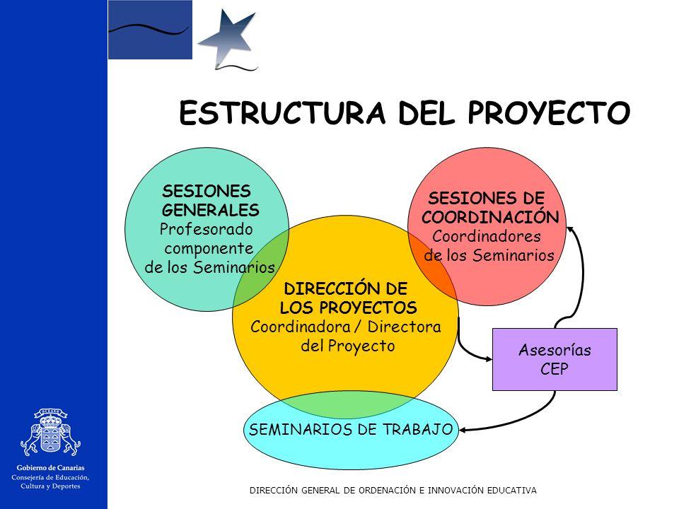DIRECCIÓN GENERAL DE ORDENACIÓN E INNOVACIÓN EDUCATIVA Motivar al profesorado para que reconceptualize su rol y el de la escuela en el proceso de alfa