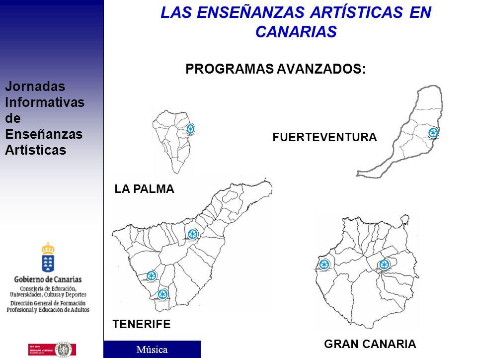 Jornadas Informativas de Enseñanzas Artísticas PROGRAMAS AVANZADOS PARA EL ACCESO A ENSEÑANZAS PROFESIONALES DE MÚSICA Finalidad: Facilitar el acceso
