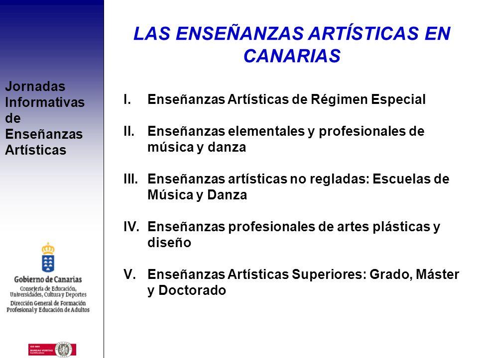 Jornadas Informativas de Enseñanzas Artísticas SERVICIO DE ENSEÑANZAS ARTÍSTICAS DIRECCIÓN GENERAL DE FORMACIÓN PROFESIONAL Y EDUCACIÓN DE ADULTOS CON
