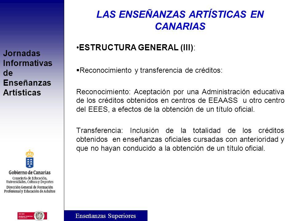 Jornadas Informativas de Enseñanzas Artísticas ESTRUCTURA GENERAL (II): Títulos de las EEAASS: Serán homologados por el Estado y expedidos por las Adm