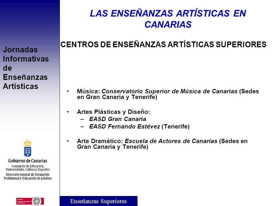 Jornadas Informativas de Enseñanzas Artísticas ENSEÑANZAS ARTÍSTICAS DE GRADO (V): Acceso directo a las EEAASS de Grado en Artes Plásticas y de Grado