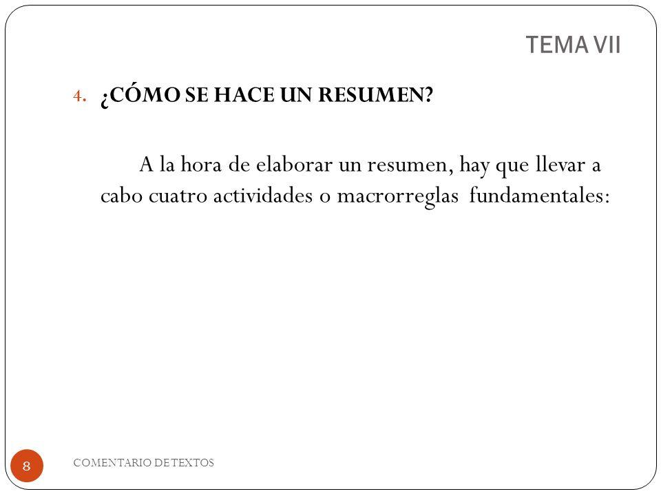 TEMA VII A.