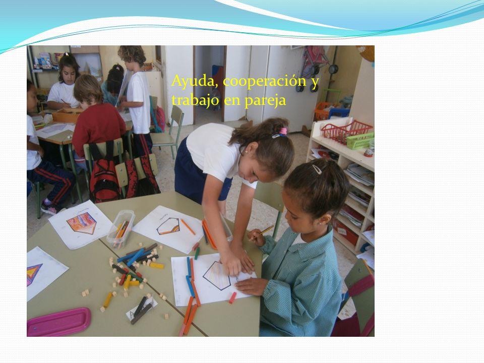 Ayuda, cooperación y trabajo en pareja