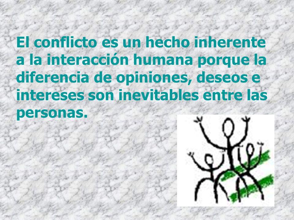 El uso del diálogo como alternativa a otras posibles respuestas menos constructivas ante los conflictos como son las de agresión y violencia o las de huida o sumisión.