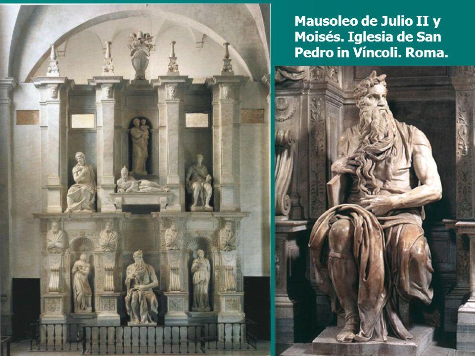 Mausoleo de Julio II y Moisés. Iglesia de San Pedro in Víncoli. Roma.