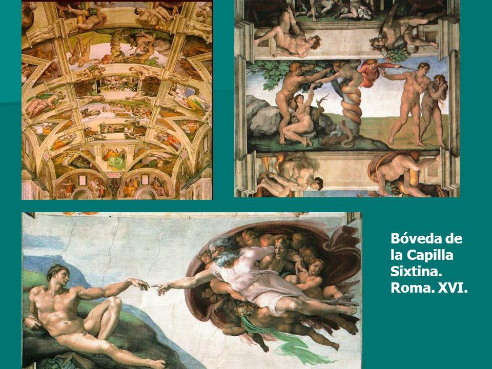 Bóveda de la Capilla Sixtina. Roma. XVI.