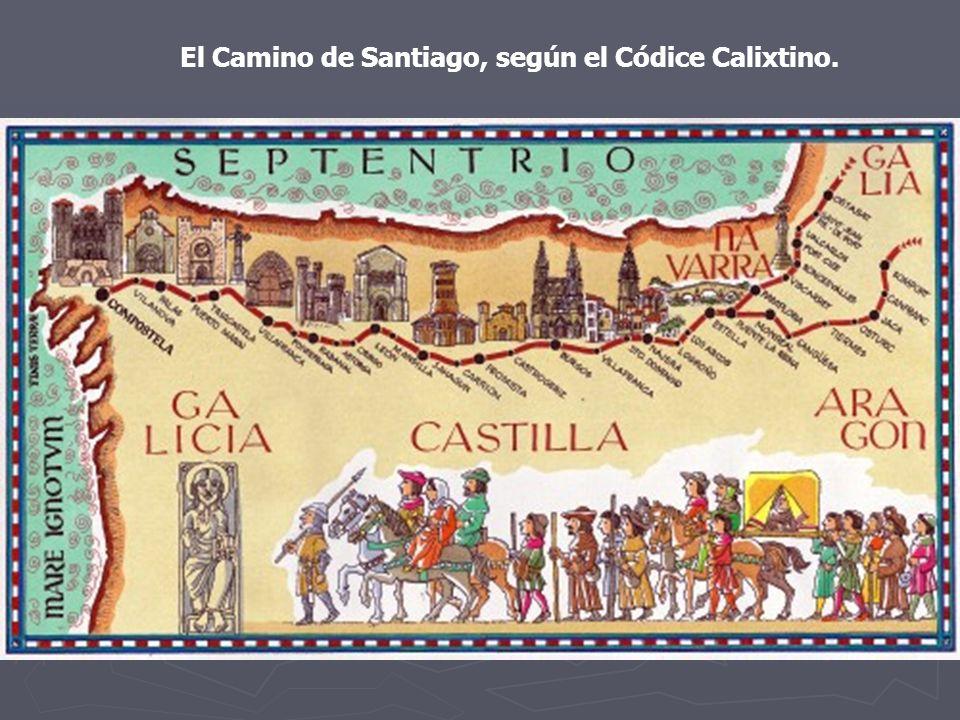 El Camino de Santiago, según el Códice Calixtino.
