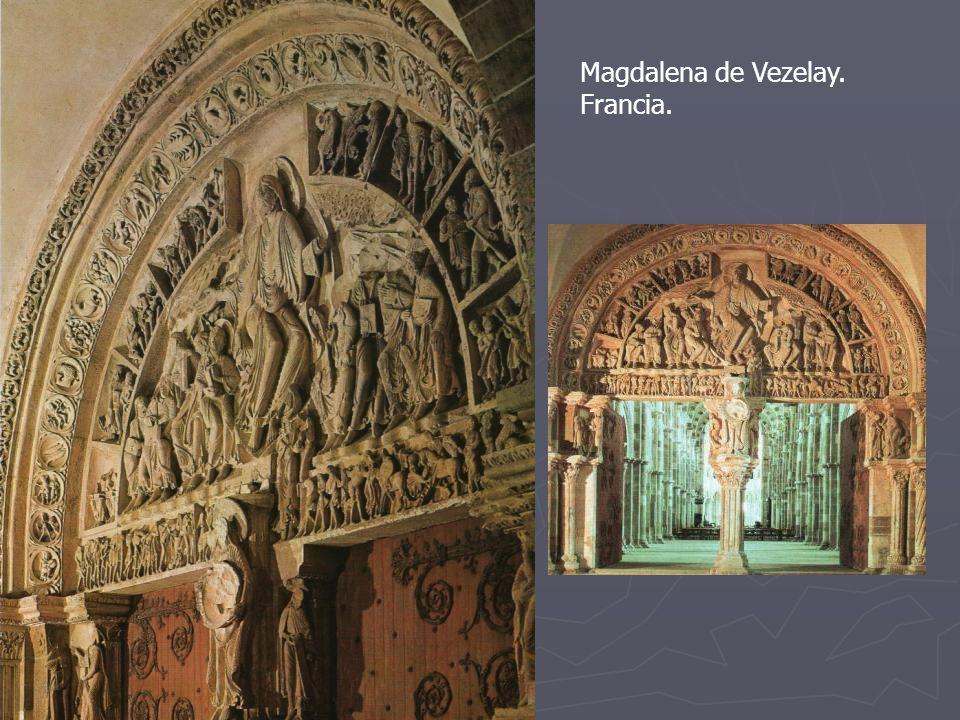 Magdalena de Vezelay. Francia. Pentecostés