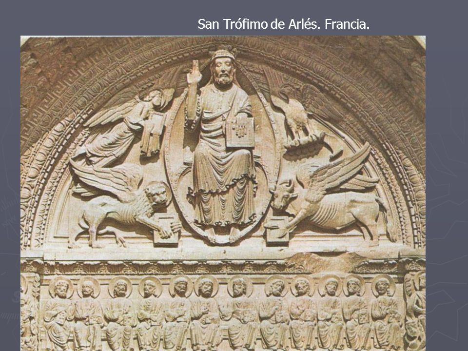 San Trófimo de Arlés. Francia. Maiestas Domini