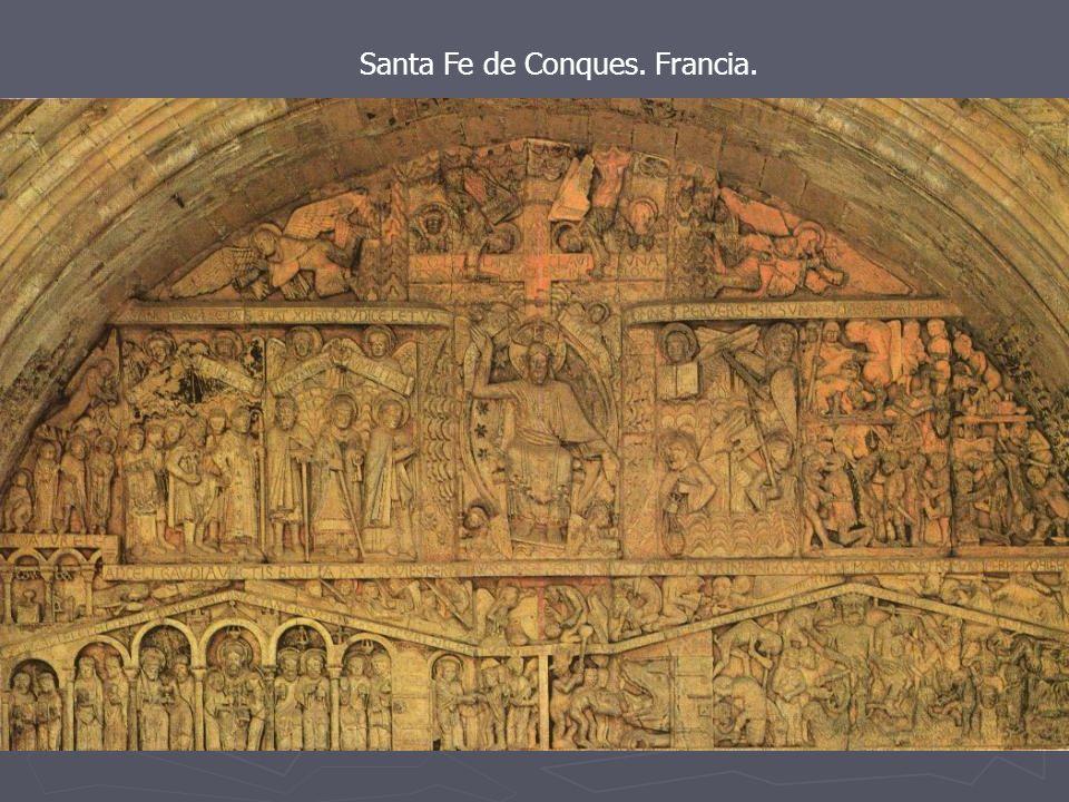 Santa Fe de Conques. Francia. Juicio Final