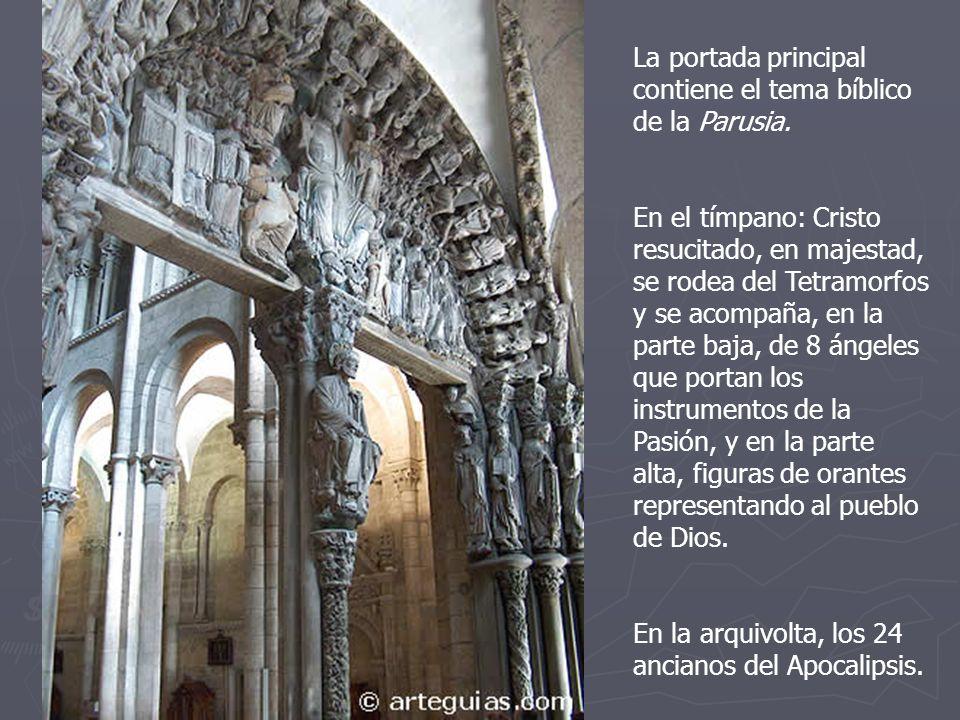 La Catedral de Santiago de Compostela se convierte en un referente para la arquitectura y escultura de Galicia y los alrededores.