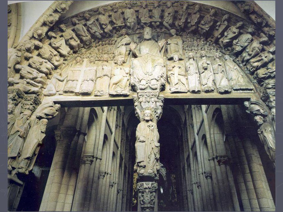 En la zona inferior se representa el Arbol de Jessé.