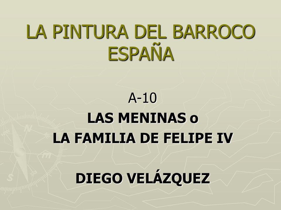 Diego Velázquez La familia de Felipe IV, o Las Meninas 1.656. Museo del Prado