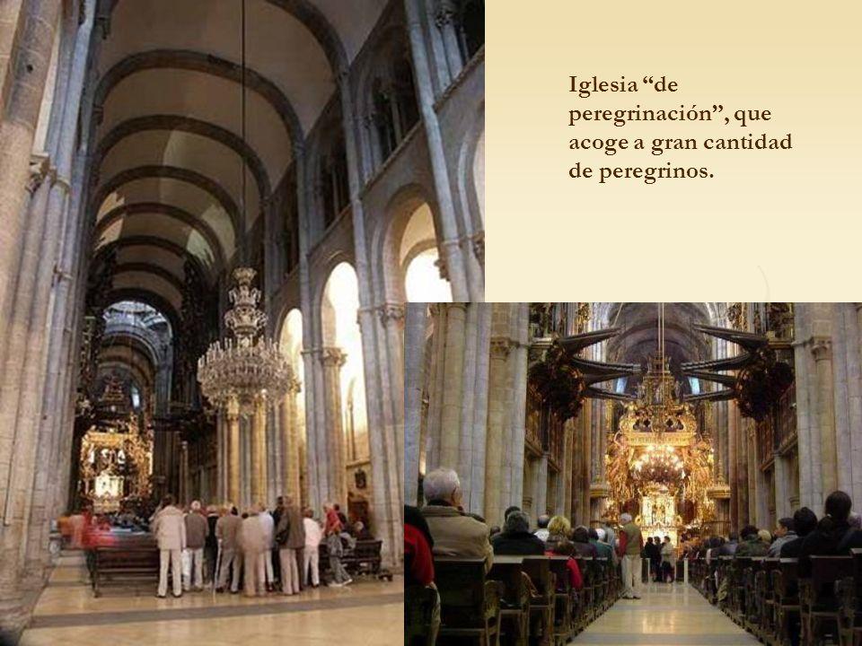Iglesia de peregrinación, que acoge a gran cantidad de peregrinos.