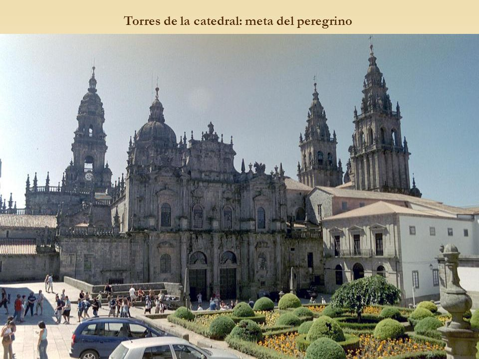 Torres de la catedral: meta del peregrino