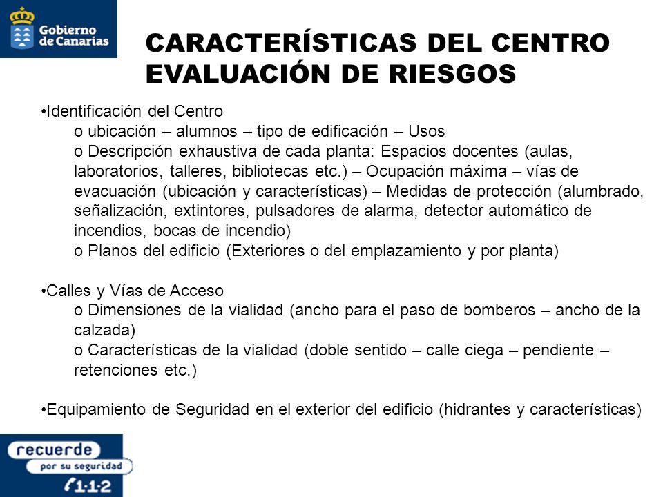 SALIDAS DE EVACUACIÓN LONGITUD DEL RECORRIDO