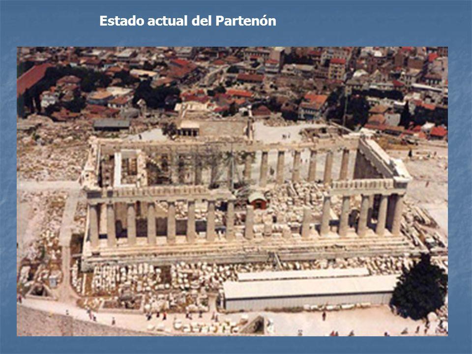 Policromía en los templos griegos