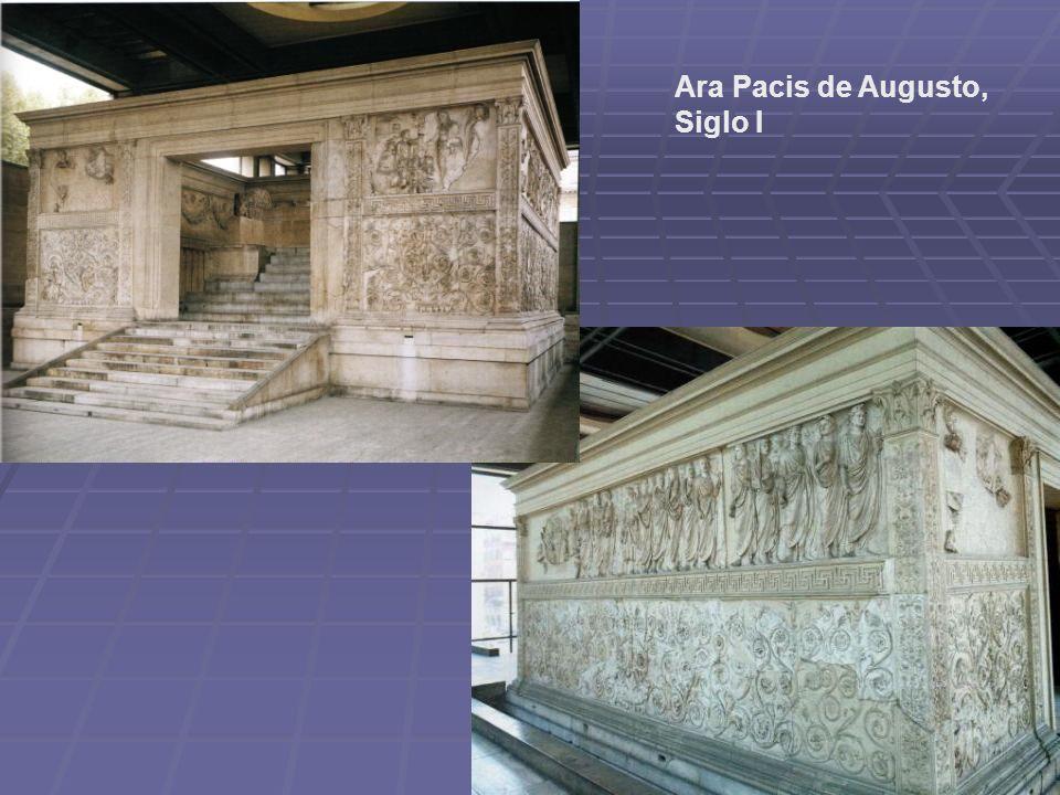 Ara Pacis de Augusto, Siglo I