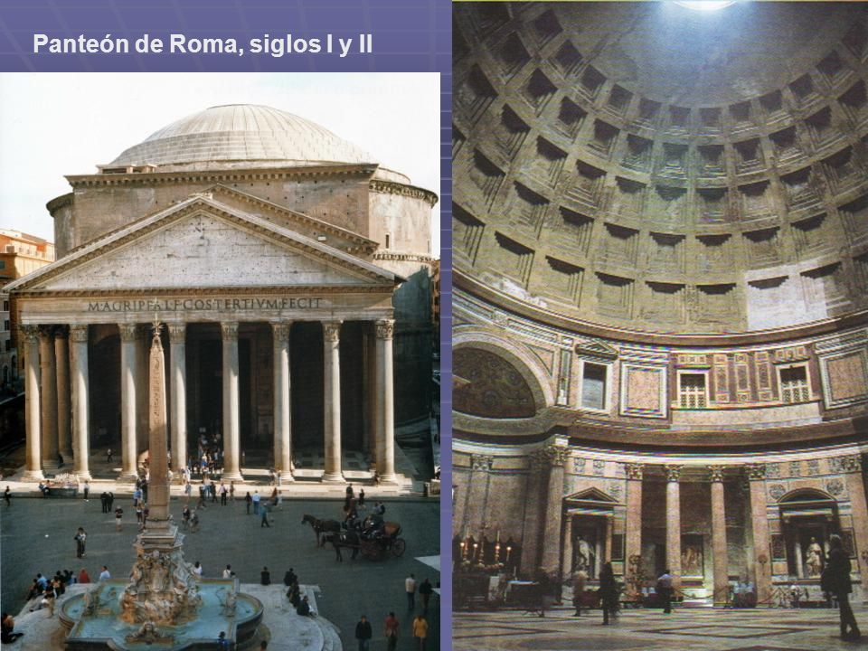 Panteón de Roma, siglos I y II