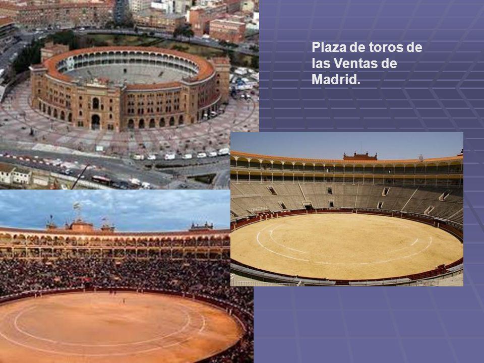 Plaza de toros de las Ventas de Madrid.