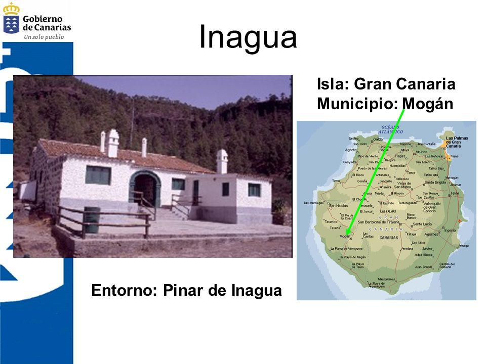 Un solo pueblo Inagua Isla: Gran Canaria Municipio: Mogán Entorno: Pinar de Inagua