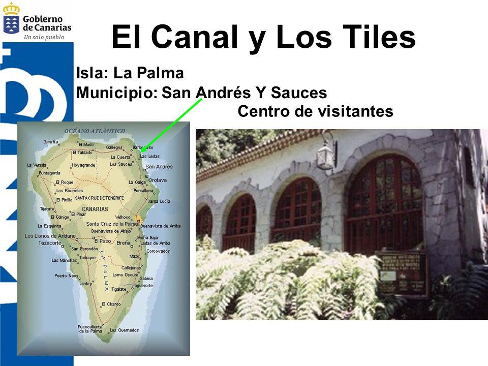 Un solo pueblo El Canal y Los Tiles Centro de visitantes Isla: La Palma Municipio: San Andrés Y Sauces