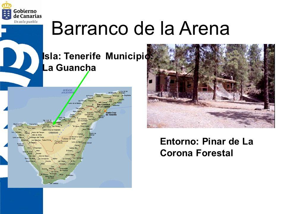 Un solo pueblo La Palmita Isla: Gran Canaria Municipio: Agaete Entorno: Próximo al ecosistema litoral y al Parque de Tamadaba