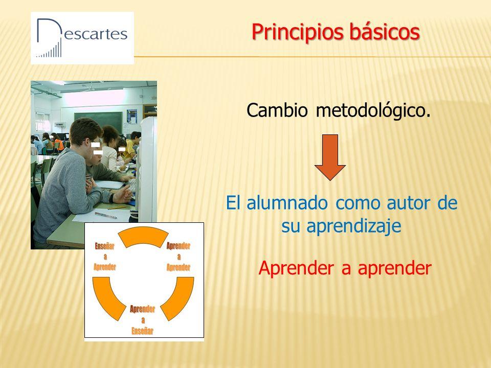 Cambio metodológico.