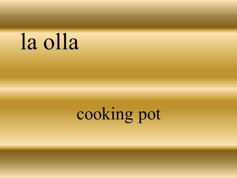 la olla cooking pot
