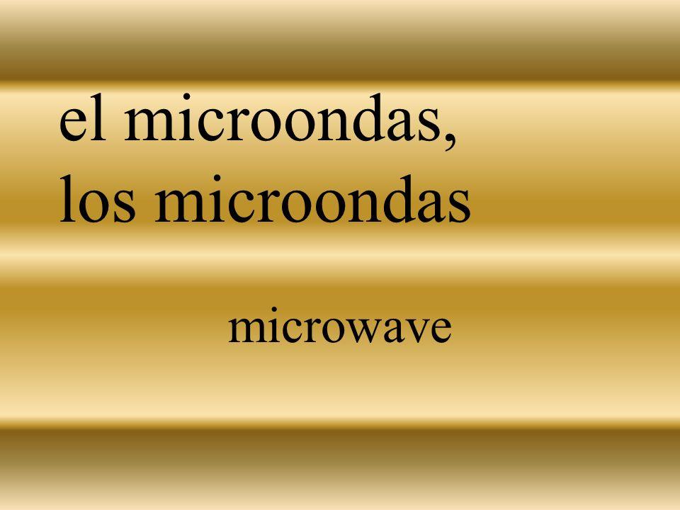 el microondas, los microondas microwave