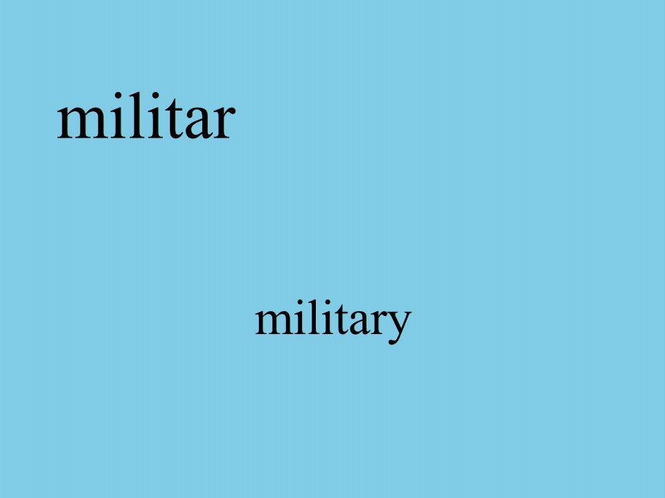 militar military