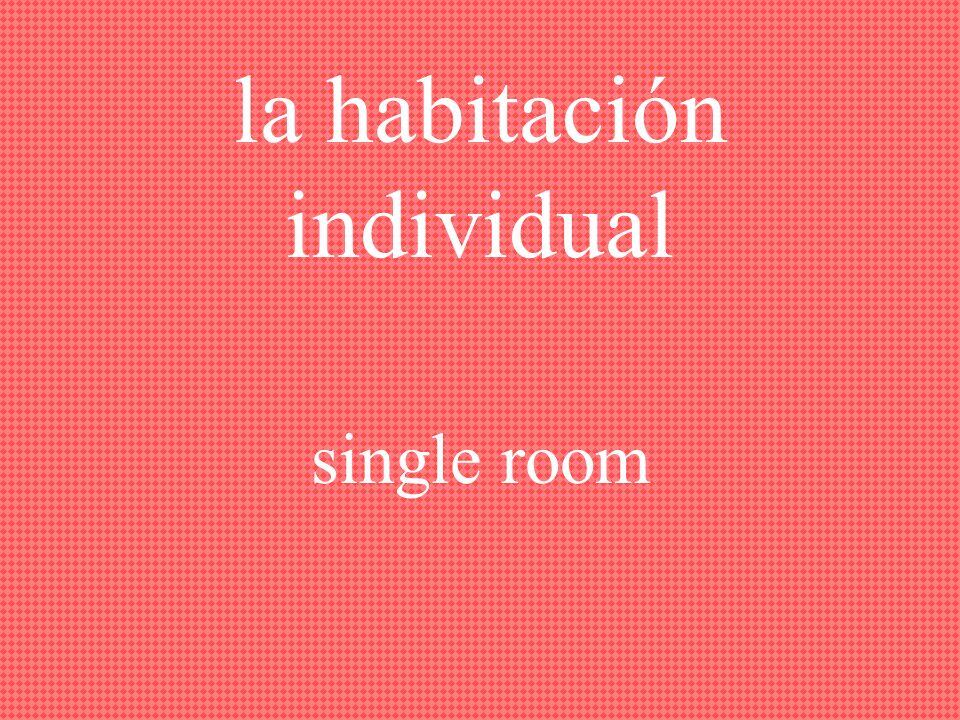 la habitación, las habitaciones room