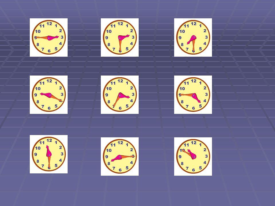 ¿A qué hora es….